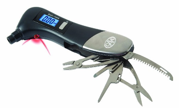 Safety Hammer Multi-Tool w/ Digital Tire Gauge - 21-918XP.