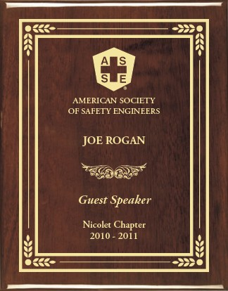 Plaque Message For Guest Speakers | just b.CAUSE