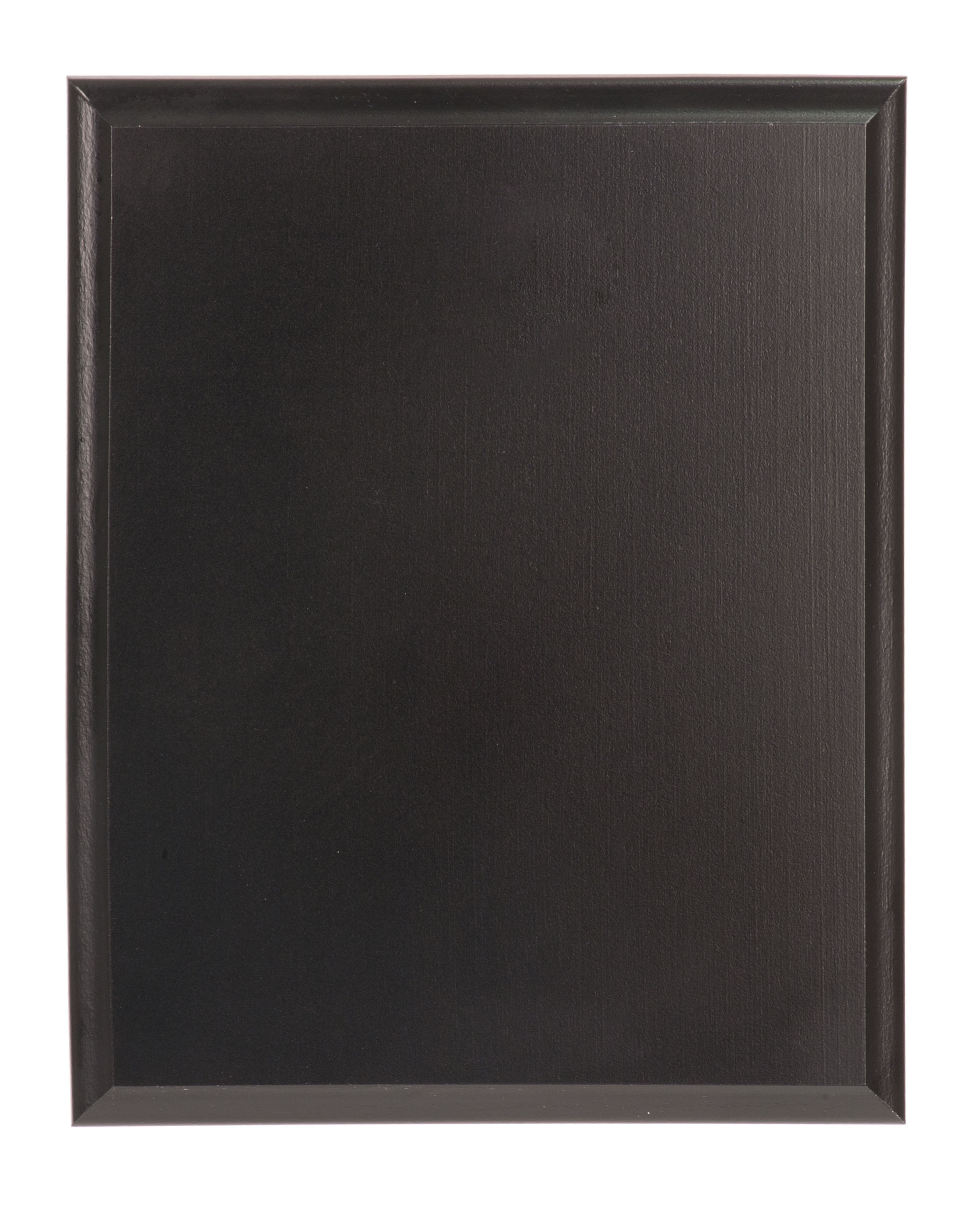 "Value 8"" x 10"" Solid Black Finish Plaque"