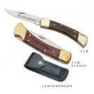 "Buck ""FOLDING HUNTER"" LOCKBACK KNIFE - 110"