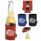 Bottle Opener KOOZIE Can Cooler - 46087