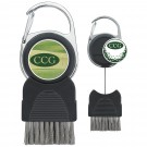 Golf Club Brush with Ball Marker - 62335