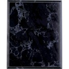 "7"" x 9"" Black Marble Finish Plaque"