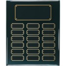 "10 1/2"" x 13"" Black Piano Finish Perpetual Plaque"