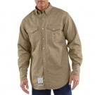 Carhartt Men's Flame-Resistant Snap-Front Twill Shirt - FRS006