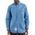 Carhartt Men's Flame-Resistant Twill Shirt with Pocket Flap - FRS160