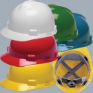 MSA V-Gard(R) - Hard hat with FasTrac ratchet suspension - MSA-4R