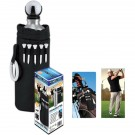 Stainless Steel Golf bottle with Carry Case - 6050-06